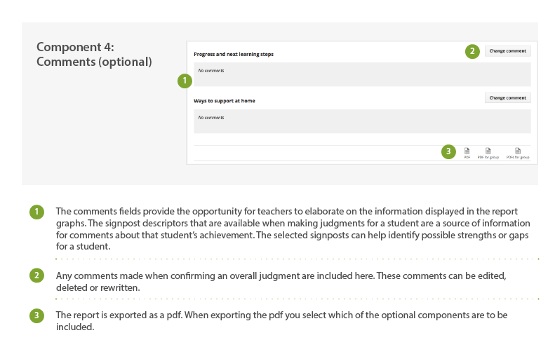 Student Progress Report Screen Changes Screenshot 4